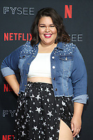LOS ANGELES, CA - MAY 30: Britney Young, at the #NETFLIXFYSEE Glow Event at NETFLIX FYSEE Raleigh Studios in Los Angeles, California on May 30, 2018. <br /> CAP/MPIFS<br /> &copy;MPIFS/Capital Pictures
