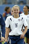 3 July 2004: Lindsay Tarpley. The United States beat Canada 1-0 at the The Coliseum in Nashville, TN in an womens international friendly soccer game..