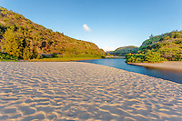 Waimea River, Waimea Bay Beach, O'ahu