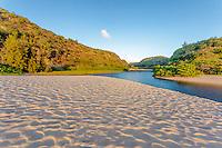 Waimea River, Waimea Bay Beach, O'ahu