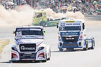 Spanish driver Orlando Rodriguez Ruiz belonging Spanish team Orlando Rodriguez Ruiz during the fist race R1 of the XXX Spain GP Camion of the FIA European Truck Racing Championship 2016 in Madrid. October 01, 2016. (ALTERPHOTOS/Rodrigo Jimenez) /NortePHOTO /NORTEPHOTO.COM