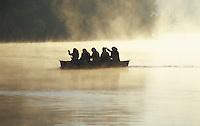 Muslim Girls Canoeing