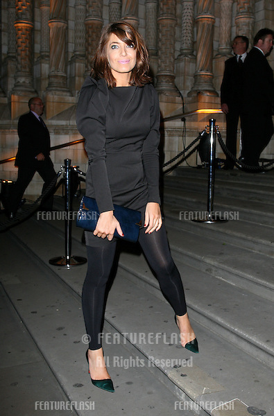Claudia Winkleman arriving for the 30 Days Of Fashion & Beauty Festival Gala Party at the Natural History Museum, London. 21/09/2009. Picture By: Alexandra Glen / Featureflash