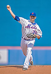 23 February 2013: New York Mets' pitcher Shaun Marcum on the mound to opening the Grapefruit League Season with a Spring Training Game against the Washington Nationals at Tradition Field in Port St. Lucie, Florida. The Mets defeated the Nationals 5-3. Mandatory Credit: Ed Wolfstein Photo *** RAW (NEF) Image File Available ***