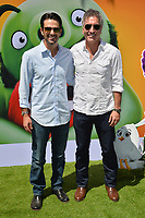 "LOS ANGELES, USA. August 10, 2019: Eyal Podell & Jonathon Stewart at the premiere of ""The Angry Birds Movie 2"" at the Regency Village Theatre.<br /> Picture: Paul Smith/Featureflash"