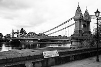 Chiswick. Greater London. Hammersmith Bridge - Chiswick Mall and embankment  Leading from Chiswick to Fulham Reach RC. Sunday.  24.07.2016  [Mandatory Credit: Peter Spurrier/Intersport-images.com]