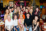 Chloe Scannell from Tralee, celebrated her 21st birthday last Saturday night in Stokers Lodge, Tralee along with many friends and family.