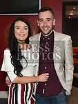 Megan Shevlin celebrating her 21st birthday in Brú with boyfriend Adam Garbutt. Photo:Colin Bell/pressphotos.ie