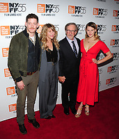 NEW YORK, NY - October 5 : Sawyer Avery Spielberg, Kate Capshaw, Steven Spielberg and Destry Allyn Spielberg attends 55th New York Film Festival screening of 'Spielberg' at Alice Tully Hall on October 5, 2017 in New York City. <br /> CAP/MPI/JP<br /> &copy;JP/MPI/Capital Pictures