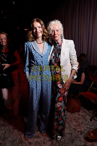 Ulyanna Sergeenko, Natalia Vodianova and Elena von Unworth- Paris Haute Couture<br /> Paris Fashion week Haute Couture 2019<br /> Paris, France on July 01, 2019.<br /> CAP/GOL<br /> ©GOL/Capital Pictures