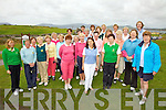 Ref Jim O'G/Sylvester H..Pictured here the Kerry Lady Captains at their golf outing at Skellig Bay Golf Club on Saturday.