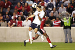 10 September 2008: Steve Cherundolo (USA).The United States Men's National Team defeated the Trinidad and Tobago Men's National Team 3-0 at Toyota Park in Bridgeview, Illinois in a CONCACAF semifinal round FIFA 2010 South Africa World Cup Qualifier.