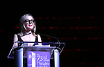 Geneva Carr on stage at the 73rd Annual Theatre World Awards at The Imperial Theatre on June 5, 2017 in New York City.