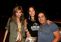 Terry Havitov (right) Co-owner,Times Supper Club<br />  Annie, his girlfriend (left) <br /> and Vanessa , publicist (middle)