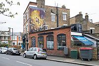 Waverly Pub, Nunhead Cemetery and Telegraph Hill, London, UK