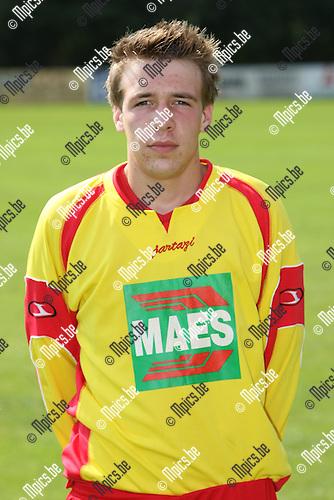2008-07-26 / Voetbal / seizoen 2008 - 2009 / SV Bornem / Jonathan De Smet..Foto: Maarten Straetemans (SMB)