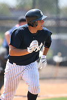 March 17th 2008:  Austin Romine of the New York Yankees minor league system during Spring Training at Legends Field Complex in Tampa, FL.  Photo by:  Mike Janes/Four Seam Images