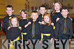 Sult Na nOg Set Dancing Competition: Taking part in the Kerry Comholtas Sult Na nOg set dancing competition County finals held in the Tintean Centre, Ballybunion on Sunday last were the Currow U/9 Mixed set dancers. Front: Kaitlyn O'Connell, Liam O'Sullivan, Doireann O'Sullivan & John O'Connor. Back : Gearoid Coffey, Fiona Brosnan, Padraig Hilliard & Cait O'Mahony.