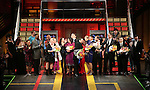 during the Broadway Opening Night Performance Curtain Call for 'In Transit' at Circle in the Square Theatre on December 11, 2016 in New York City.