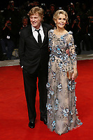 VENICE, ITALY - September 1st: Robert Redford and Jane Fonda attend the red carpet during 74th Venice Film Festival at Palazzo Del Cinema on September 1st,, 2017 in Venice, Italy. (Mark Cape/insidefoto)