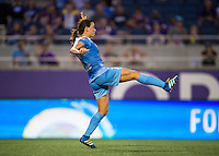 Orlando, FL - Saturday July 16, 2016: Taylor Comeau during a regular season National Women's Soccer League (NWSL) match between the Orlando Pride and the Chicago Red Stars at Camping World Stadium.