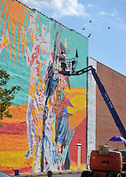 fort smith mural project images nwa democrat gazette