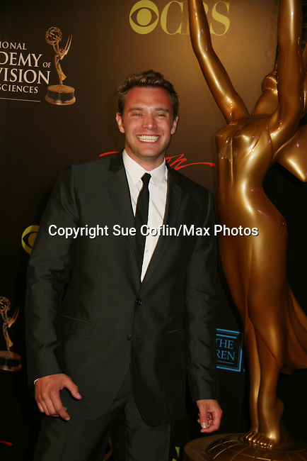 All My Children Billy Miller - Red Carpet - 37th Annual Daytime Emmy Awards on June 27, 2010 at Las Vegas Hilton, Las Vegas, Nevada, USA. (Photo by Sue Coflin/Max Photos)