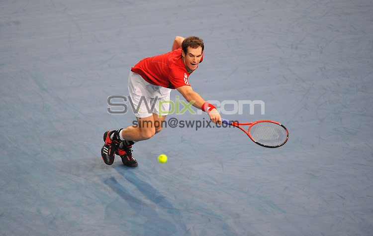 Andy MURRAY - 11.11.2011 - BNP Paribas Masters, Quarts de finale - Bercy, Paris. Photo: Dave Winter / Icon Sport.