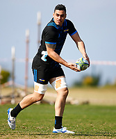 Kane Le'aupepe during the Hurricanes training session at Northwood High School in Durban, South Africa on Tuesday, 28 May 2019. Photo: Steve Haag / stevehaagsports.com