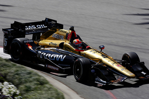 15-17 April, 2016, Long Beach, California USA<br /> 5 James Hinchcliffe<br /> ©2016, Phillip Abbott<br /> LAT Photo USA