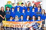 Pupils from Maggie Griffin's sixth class in CBS Clounalour, Tralee who graduated from primary school on Friday.