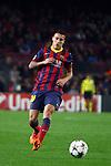 UEFA Champions League 2013/2014.<br /> FC Barcelona vs Celtic FC: 6-1 - Game: 6.<br /> Cristian Tello.
