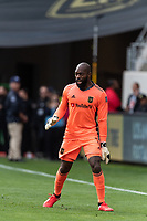 LOS ANGELES, CA - MARCH 01: Kenneth Vermeer #1 of LAFC in a match against Inter Miami CF during a game between Inter Miami CF and Los Angeles FC at Banc of California Stadium on March 01, 2020 in Los Angeles, California.