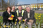 Yvonne Quill Chairperson of Killarney Tidy towns, Cormac Foley Killarney Tidy Towns and Gerard OSullivan Chairperson of.Finance Council of Entente Florale who are working hard to try to win the Tidy Towns and Entente Florale competitions