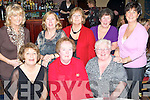 ENJOYING: Seated l-r: Angela Fitzgerald, Maureen Dwyer and Eileen Hooker. Standing l-r: Mary Sharpe, Assumpta Dore, Eileen Murphy, Pauline Martin and Madeline Kelly all enjoying Women's Christmas in the Abbey Gate Hotel on Sunday night.   Copyright Kerry's Eye 2008