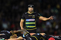 Cobus Reinach of Northampton Saints. Gallagher Premiership match, between Northampton Saints and Harlequins on September 7, 2018 at Franklin's Gardens in Northampton, England. Photo by: Patrick Khachfe / JMP