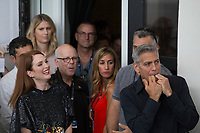 George Clooney, Julianne Moore at the &quot;Suburbicon&quot; photocall, 74th Venice Film Festival in Italy on 2 September 2017.<br /> <br /> Photo: Kristina Afanasyeva/Featureflash/SilverHub<br /> 0208 004 5359<br /> sales@silverhubmedia.com