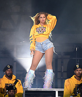 4/14/18 - Indio:  Beyonce Performs at the 2018 Coachella Valley Music And Arts Festival