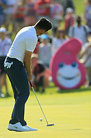 Mike Lorenzo Vera of Team France in action on day 2 at the GolfSixes played at The Centurion Club, St Albans, England. <br /> 06/05/2018.<br /> Picture: Golffile | Phil Inglis<br /> <br /> <br /> All photo usage must carry mandatory copyright credit (&copy; Golffile | Phil Inglis)