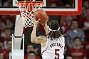 February 23, 2014: Terran Petteway (5) of the Nebraska Cornhuskers with a lay up in the first half against the Purdue Boilermakers at the Pinnacle Bank Arena, Lincoln, NE. Nebraska 76 Purdue 57.