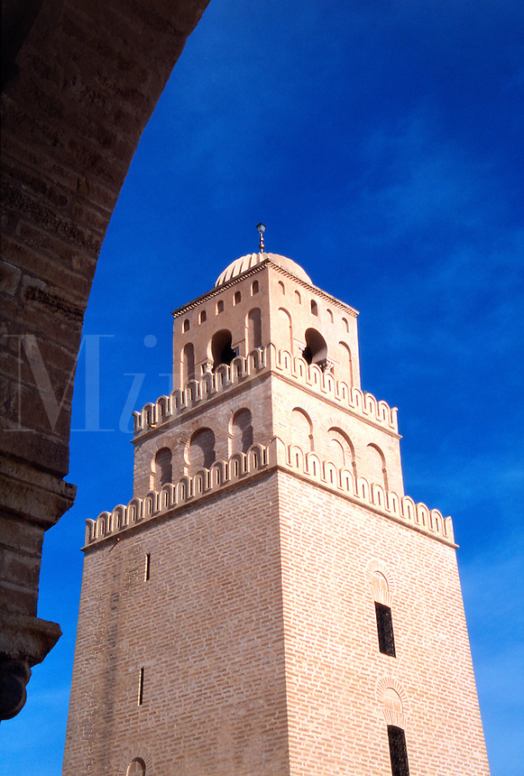 Tunisia Kairouan The Great Mosque