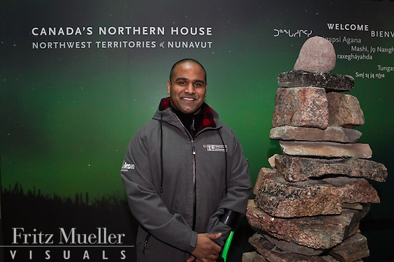 Yukoner Ramesh Ferris volunteers at Canada's Northern House