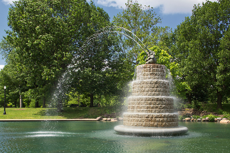 Goodale Park Fountain | Malcolm Cochran