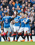 Martyn Waghorn celebrates his goal
