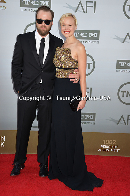 Alison Pill, Joshua Leonard 201 Honored with American Film Institute Life Achievement Awards Gala at the Dolby Theatre in Los Angeles.