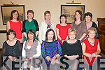 Staff of Arus Mhuire Nursing Home , Listowel enjoying their Christmas party at the Listowel Arms Hotel on Friday night last. Front : mary Molyneaux, Teresa hannon, Breda walsh, Helen Kenny & Margaret Buckley. Back : Carmel Nolan,Catherine Walsh, Bridie McCarthy, Aine Fitzgerald, Jurate Dovydennie & Jean McCarron..