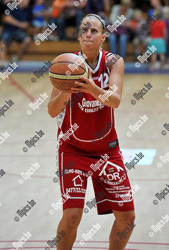 2010-09-12 / Basketbal / seizoen 2010-2011 / BG Willebroek / Inge Op De Beeck..Foto: Mpics