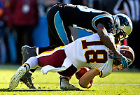 Photography of the Carolina Panthers  v. The Washington Redskins, during their Sunday afternoon NFL game at Bank of America Stadium in Charlotte, North Carolina.<br /> <br /> Charlotte Photographer - PatrickSchneiderPhoto.com
