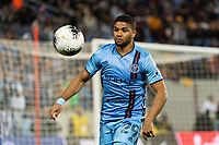 HARRISON, NJ - MARCH 11: Ismael Tajouri #29 of NYCFC during a game between Tigres UANL and NYCFC at Red Bull Arena on March 11, 2020 in Harrison, New Jersey.