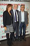 XIV Sopar Solidari de Nadal.<br /> Esport Solidari Internacional-ESI.<br /> Josep Maldonado &amp; Arcadi Alibes.
